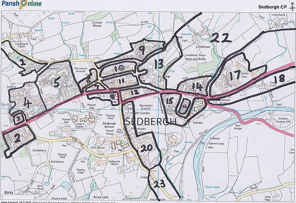 Sedbergh Map